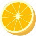 drink, fruit, juice, lemon, orange icon