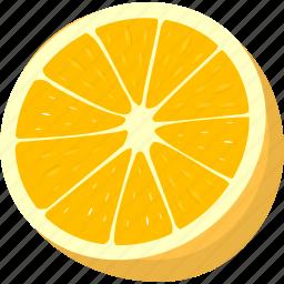 drink, fruit, juice, lemon, orange icon