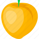 food, fruit, juice, peach icon