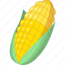 cooking, food, maize icon