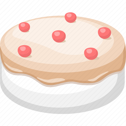 birthday, cake, cooking, dessert, food, gastronomy, meal icon