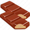 chocolate, cooking, dessert, food, gastronomy, restaurant, vegetable icon