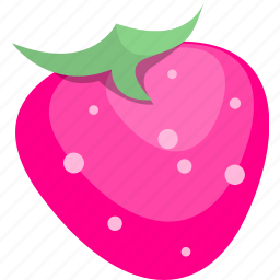 fruit, strawberry, tropical icon