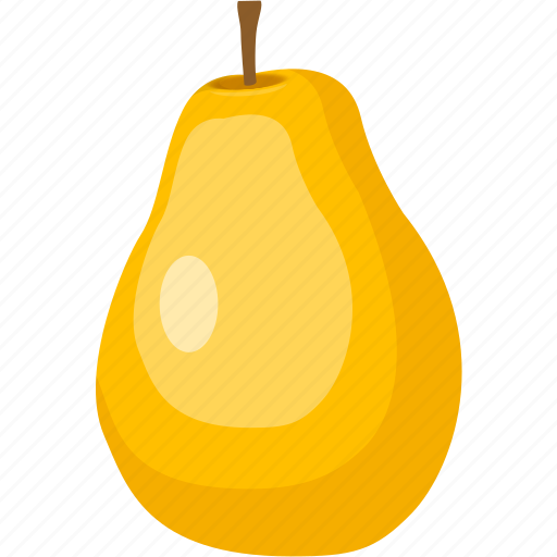 cream, diet, fruit, pear, sweet, tropical icon