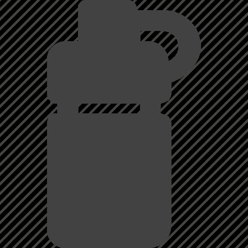 bottle drink fluid food heathy water icon