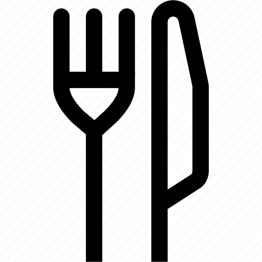 cook, fork, kitchen, knife, restaurant icon