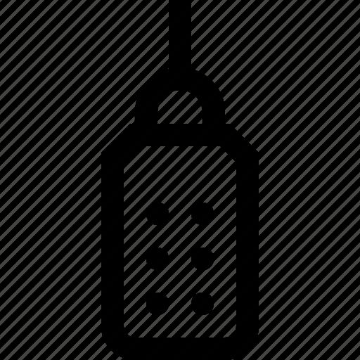 bottle, pour, suger icon