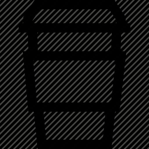 caffeine, coffee, cup, drink, espresso, hot, paper cup icon