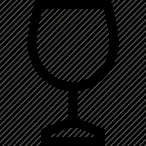 empty, glasses, wine icon