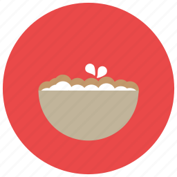 bowl, food, meals icon