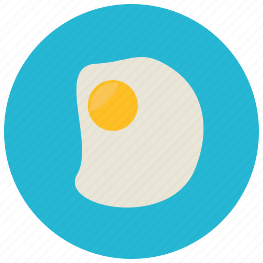 breakfast, egg, food, meals icon