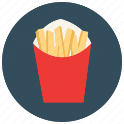 fast, food, french, fries, meals icon
