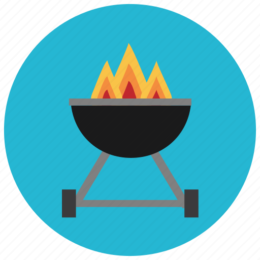 barbeque, food, grill, meals, outside, wheels icon