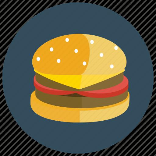 cheeseburger, fast, food, hamburger, meals icon