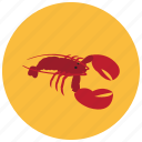claws, cook, food, lobster, meals, seafood icon