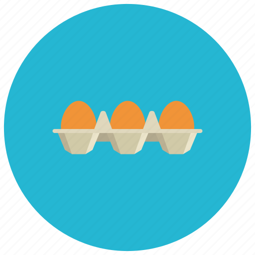 brown, eggs, food, ingredient, meals, product icon
