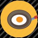 breakfast, egg, food, meals, pan