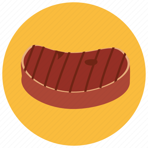 beef, food, grilled, meals, steak icon