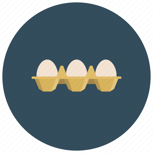 eggs, food, ingredients, meals, products, white icon