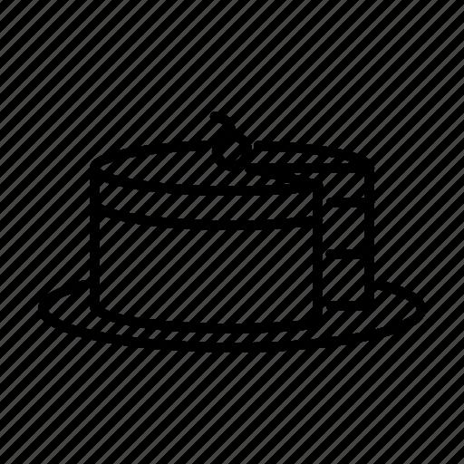cake, food, sweet icon