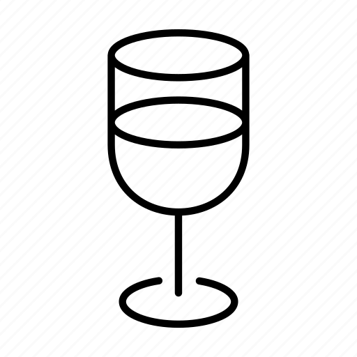 cup, drink, glass, water icon