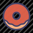 food, dish, donut, doughnut, bakery