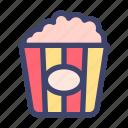 food, dish, popcorn, cinema