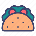 food, dish, taco, gastronomy