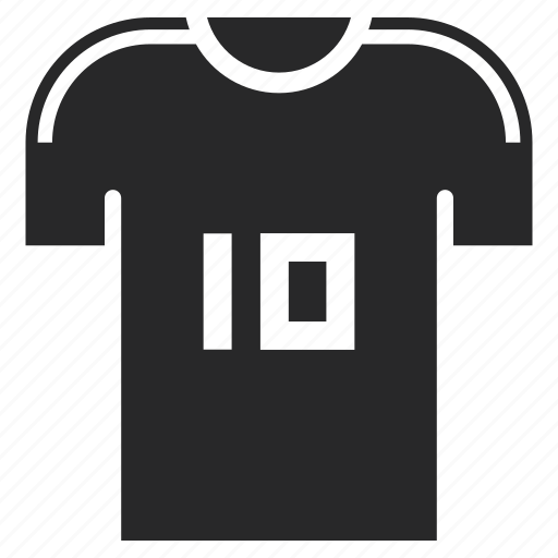 football, jersey, merchandise, player, soccer, uniform icon