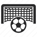 ball, football, goal, net, penalty, soccer icon