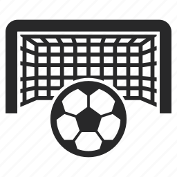 ball, football, goal, net, penalty, soccer icon