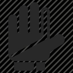 football, gloves, goalkeeper, soccer icon