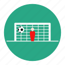 football, on, shoot, soccer, sport, statistic, target icon
