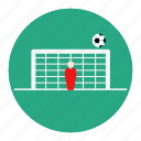 football, off, shoot, soccer, sport, statistic, target icon