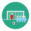 football, free, kick, shoot, soccer, sport, statistic icon