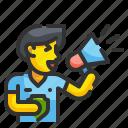 cheer, megaphone, audience, sport, match, soccer, football