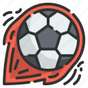 football, ball, soccer, sports, competition, kick, playing