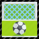 penalty, soccer, football, kick, field, net, equipment icon