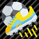 soccer, shoe, football, sport, kick, equipment, stud icon