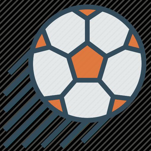 ball, football, power, shoot, soccer, sport icon