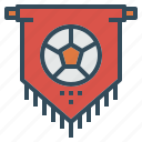 club, fan, fc, flag, football, team icon