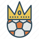 champion, crown, football, king, soccer