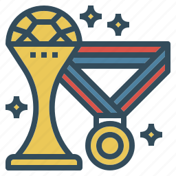 football, medal, soccer, sport, trophy, winner icon