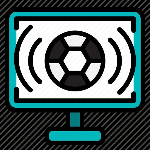 broadcasting, communication, communications, television icon