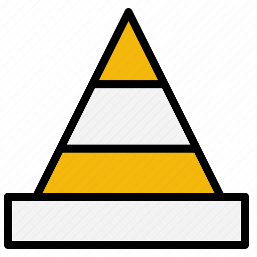 bollards, cone, post, security, traffic icon
