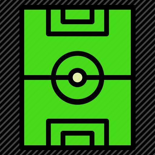 fied, field, football, soccer, sports, stadium icon