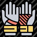 equipment, gloves, goalkeeper, hands, protection