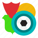 badge, club, football, sports, team icon