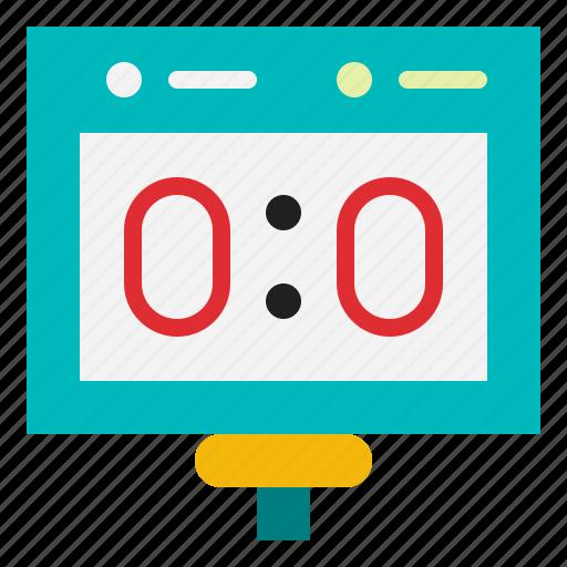 competition, scoreboard, scoring, sports, stadium icon