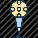 ball tee, golf ball on, golf ball pin, golf tee, on tee icon